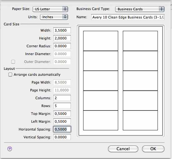 Avery 8859 belight software forum caution 05 horizontal spacing i used here is just an example you have to measure margins on the sheet itself to get the right margins sizes then adjust reheart Choice Image